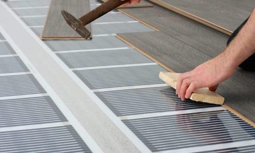 Монтаж плівкової теплої підлоги - технологія укладання