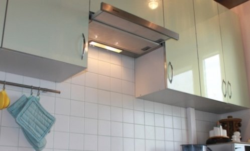 Витяжка над газовою плитою. Правильна установка
