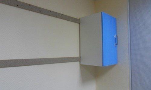 Как повесить мебель на гипсокартонную стену