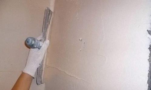Как шпаклевать стены правильно: этапы