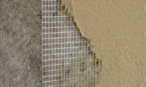 Фасадна сітка для штукатурки стін